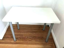 white table top ikea. Ikea Glass Table Top White Silver  Legs .
