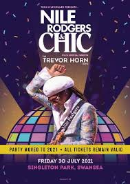 Nile Rodgers and CHIC - Swansea