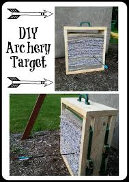 make your own archery target diy diy archery mama s geeky