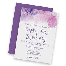 Announcement Cards Wedding Printing Quad State Ink