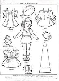 Small Picture JANE A PAPER DOLL Marges8s Blog
