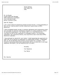 Sample Cover Letter For Fresher Lecturer Job Application