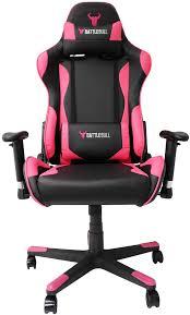 sumptuous design pink gaming chair battlebull combat black bb 623168 ple