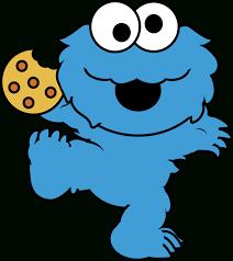 baby cookie monster clip art. Plain Cookie Cookie Monster Drawing Clipartfan Boy Shower Cute Digital Cookies Clipart  Baby Inside Baby Monster Clip Art