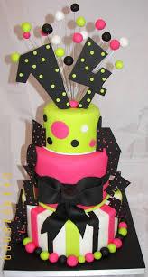 birthday cake for teen girls 14. Interesting Girls Whimsical 14th Birthday Cakekinda Retro Love The Numbers On Top Throughout Birthday Cake For Teen Girls 14 Pinterest