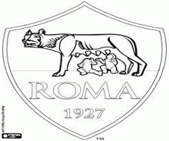 Kleurplaat As Roma Schild Kleurplaten