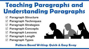 teaching paragraphs and understanding paragraphs teaching  teaching paragraphs and understanding paragraphs