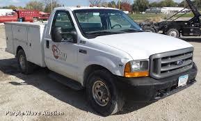 2001 Ford F350 Super Duty utility bed pickup truck | Item DZ...