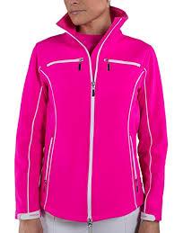 Jofit Ladies Plus Size Tech Golf Jackets Mojito