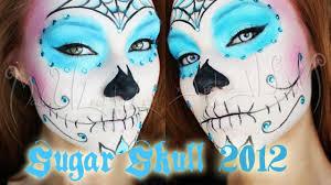 request sugar skull makeup tutorial option one
