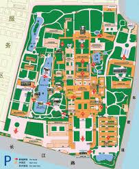 nanjing attraction map  nanjing maps  china tour advisors