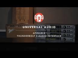 Uad Comparison Chart Universal Audios New Apollo X W Thunderbolt 3 And Hexa