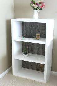 reclaimed wood bookshelves painted white and grey bookshelf bookcase free shelf uk