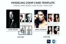 Composite Card Template Composite Card Template Free Model