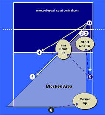 Volleyball Shot Chart Perimeter Defense