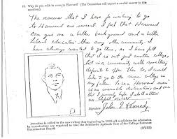 essay on jfk heres the five sentence personal essay that helped here s the five sentence personal essay that helped jfk get into john kennedy jfk harvard