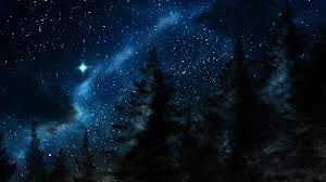 winter night stars wallpaper. Unique Winter HD Wallpaper  Background Image ID735997 With Winter Night Stars