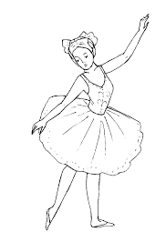 Ballerina Coloring Page 102ndfighterwing Com