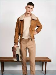zara man makes a case for fall neutrals front and center model david trulik