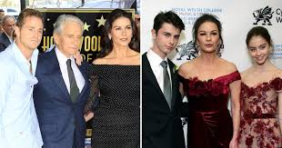 A look at the life of catherine zeta jones, following her disclosure she has received treatment for bipolar disorder after dealing with the stress of her husband's cancer battle. Michael Douglas And Catherine Zeta Jones Best Family Photos