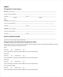 Sample House Lease Agreement Form 8 Free Documents In Pdf