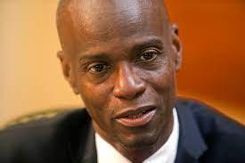 Haitian president's murder, apparently ...