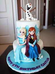 cakes for girls 9th birthday frozen. Brilliant 9th Beautiful Frozen Elsa Anna Olaf Figurines On Cake To Cakes For Girls 9th Birthday Frozen F