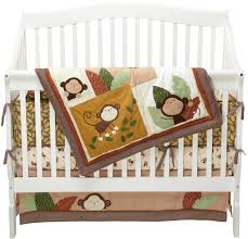 carters monkey bars crib bedding collection