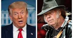 'Not OK': <b>Neil Young</b> speaks out after Trump uses songs at Mount ...