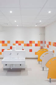 preschool bathroom design. Gallery Of Pajot School Canteen / Atelier 208 - 7 Preschool Bathroom Design S