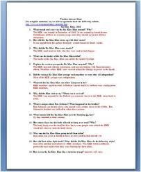 reconstruction and the ku klux klan primary source worksheet by reconstruction and the ku klux klan primary source worksheet