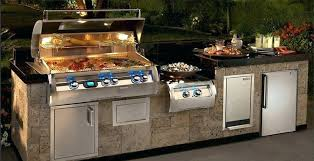 grill intended for outdoor barbecue islands decor built in kitchen kitchenaid gas