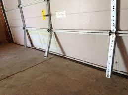image of garage door strut repair