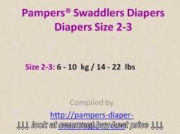 Pampers Weight Chart Pampers Swaddlers Diapers Size Chart By Weight Youtube