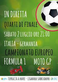 Quarti di finale Italia - Germania - Lignano Sabbiadoro
