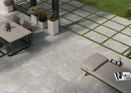 to lay porcelain paving