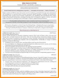 8 Human Resource Resume Template Wsl Loyd