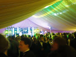 marquee lighting ideas. colourful roof lighting marquee ideas