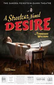 a streetcar d desire the gamm theatre street car poster