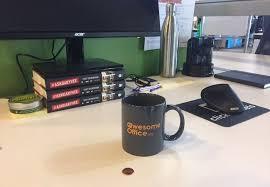Office desk pranks ideas April Fools Hidden Penny Prank Snacknation 21 Hilarious Office Pranks That hopefully Wont Get You Fired