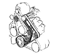 need a belt diagram for a 2004 pontiac grand prix gtp 3 8l graphic