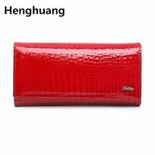 alligator <b>wallet women genuine leather</b> ladies clutch <b>purse</b> long ...