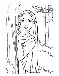 Disegni Di Pocahontas Da Stampare E Colorare