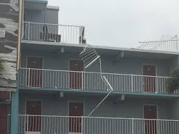 garden city inn. Wind From Irma Blows Roofing Off Of Garden City Inn. (WPDE) Inn