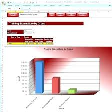 Training Tracker Excel Spreadsheet Employee Training Tracker Template Xls Chaseevents Co