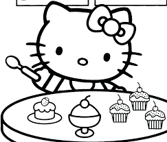 Hello Kitty Colring Sheets Hello Kitty Coloring Pages Free Bikeandtravel Co