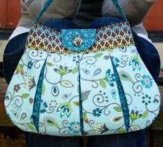 Handbag Patterns Extraordinary Classy Caitlyn Handbag PDF Pattern PatternPile Sew Quilt