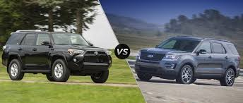 Toyota 4Runner vs 2016 Ford Explorer