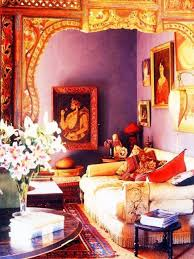 indian style living room interiors with