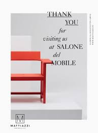 thank you for ing our booth at the fair salone del mobile thank you for ing our booth at the fair salone del mobile 2015 milan mattiazzi